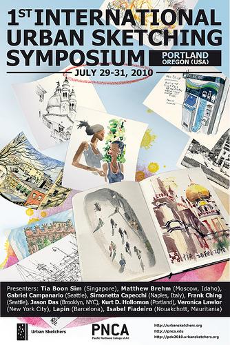 urban sketching symposium 2010