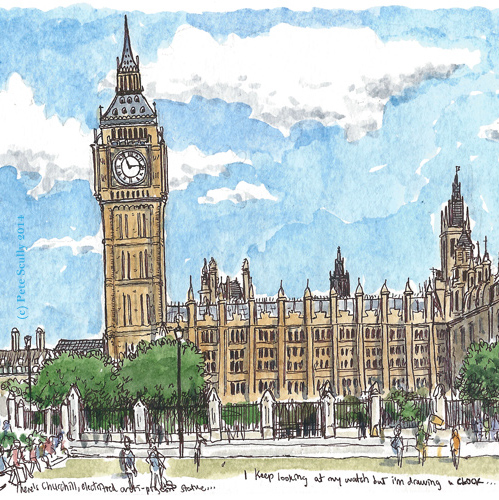 Gallery For gt Big Ben Close Up Drawing