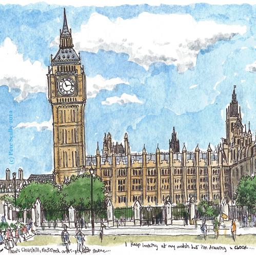 parliament square bigben sm