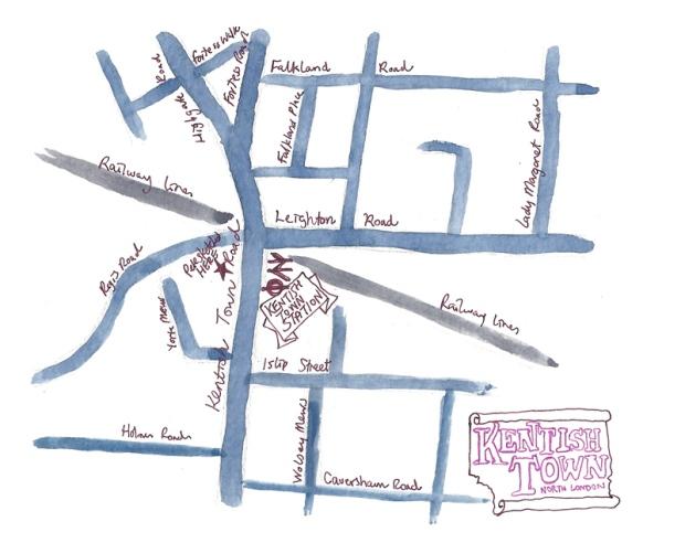 kentsh town map sm