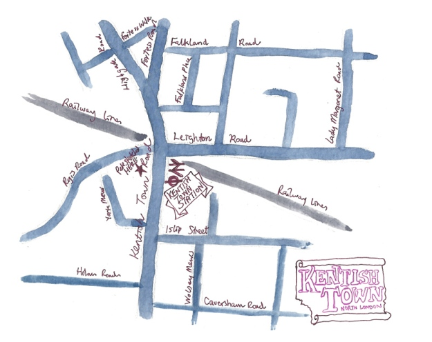 kentsh town map sm