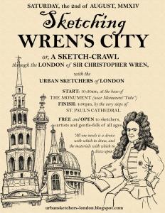 Sketching Wren's City sm