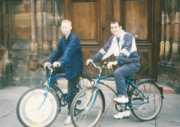 1997 pete tel cycling strasbourg