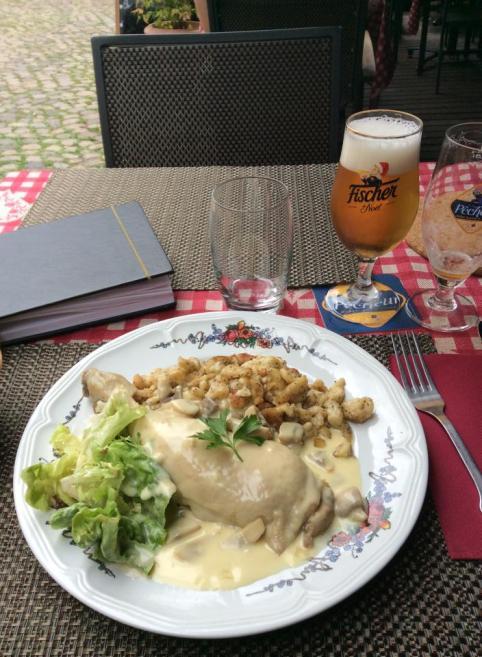 Strasbourg lunch