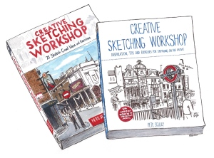 creative sketching workshop books
