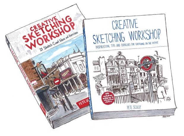 creative sketching workshop books