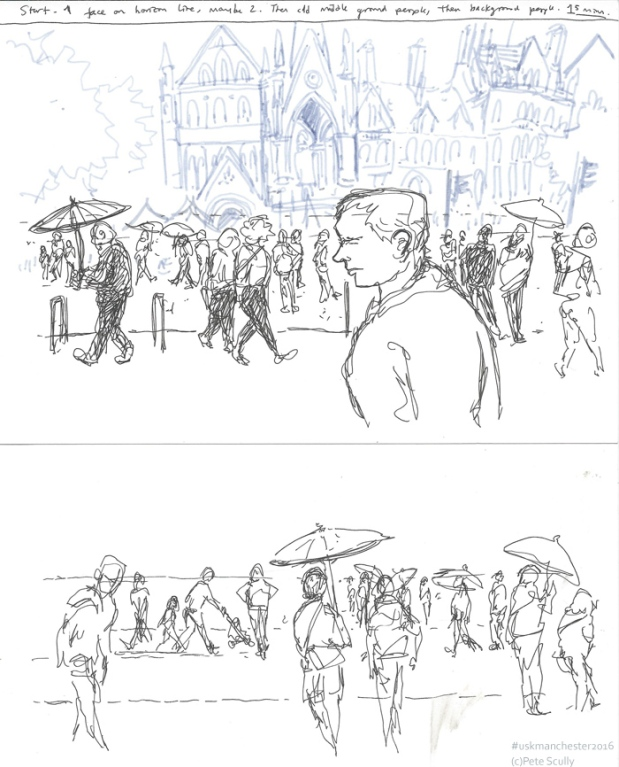 Capturing the crowd sketches sm