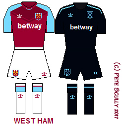 West Ham 1718