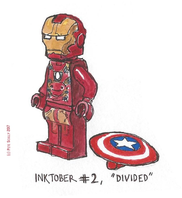inktober 2 DIVIDED sm