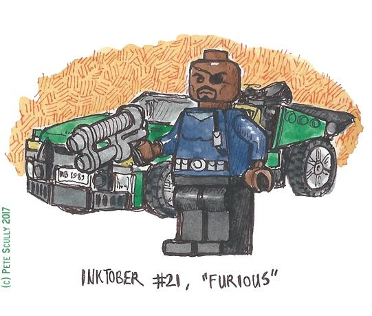 inktober 21 FURIOUS sm