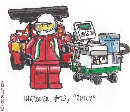inktober 23 JUICY sm