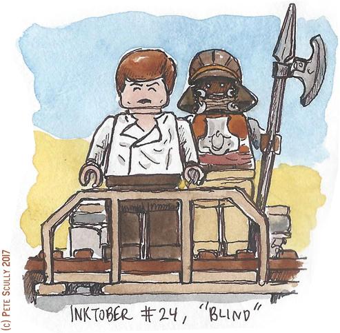 inktober 24 BLIND sm