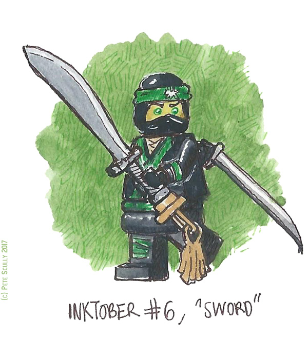 inktober 6 SWORD sm