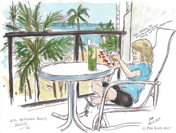 Luke at Waikiki hotel sm