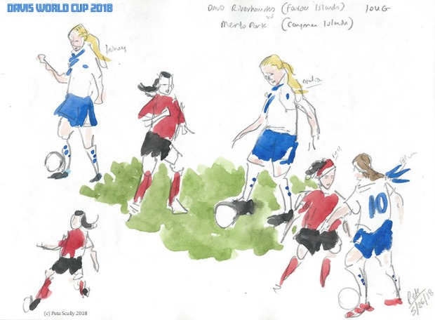 Davis World Cup 2018 sketch sm