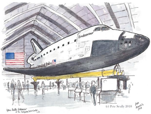 Space Shuttle Endeavour Feb2018 sm