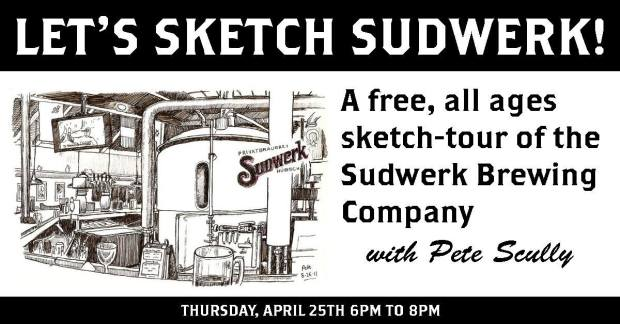 Lets Sketch Sudwerk April 2019