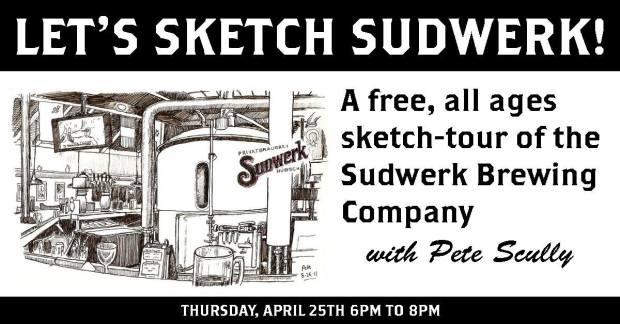 Lets Sketch Sudwerk April 2019