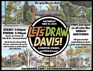 LEt's draw Davis November 2019