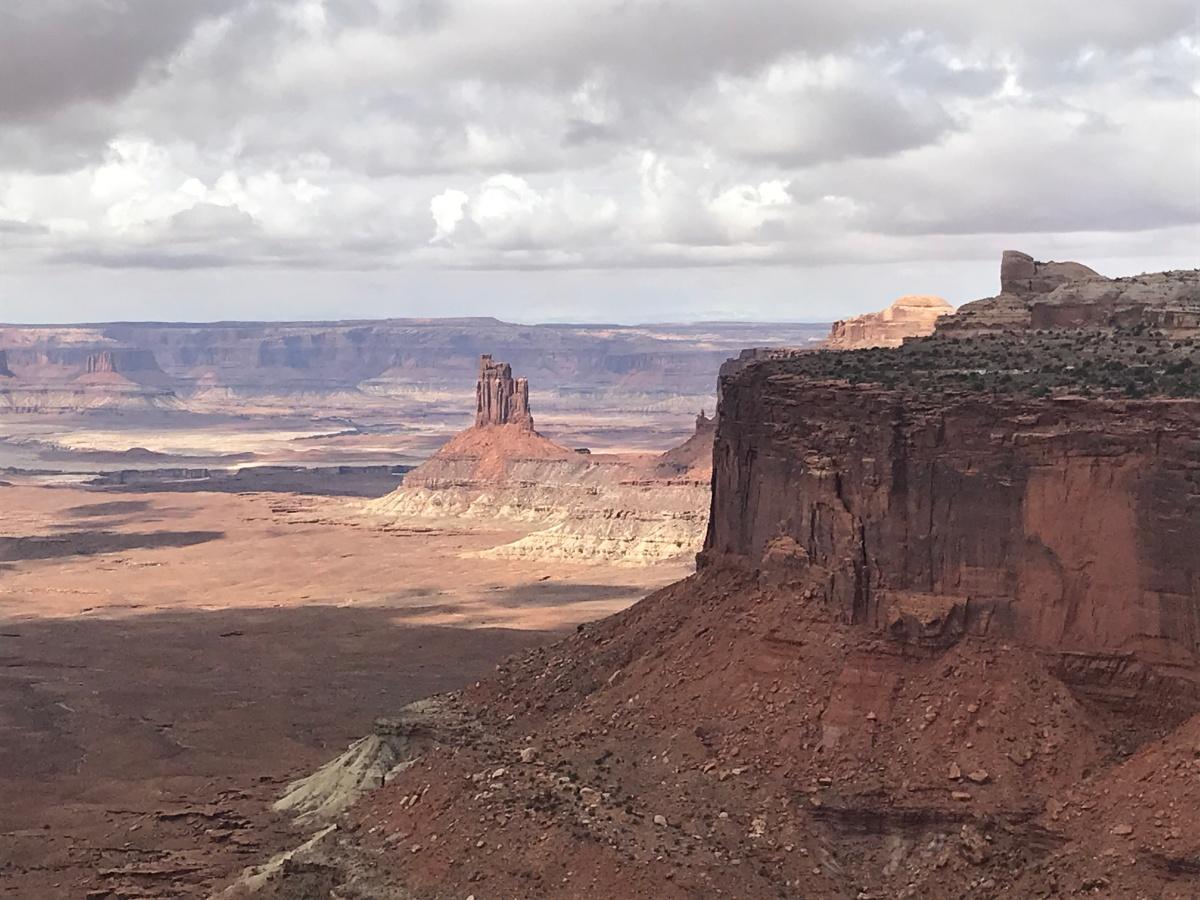 view toward Candlestick, Canyonlands