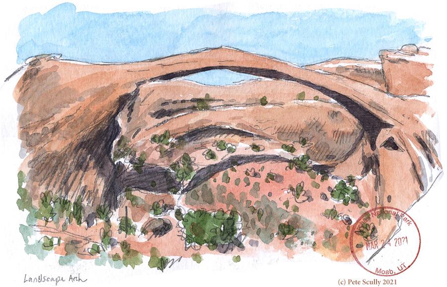 Landscape Arch sketch